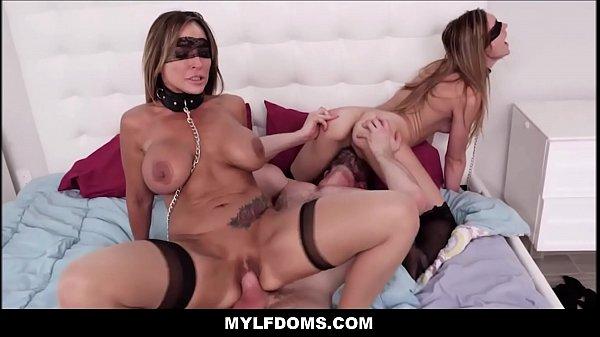 Lesbian Threesome Mom Daughter
